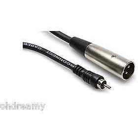 Hosa Cable Xrm105 Rca To Xlr Male Cable - 5 Foot Damaged Package