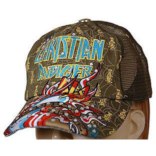 Christian Audigier Death From Above Womens Hats O/S