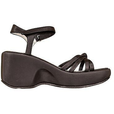 Stevies Saffy Girls Sandals Childrens Shoes Black Size 13.5
