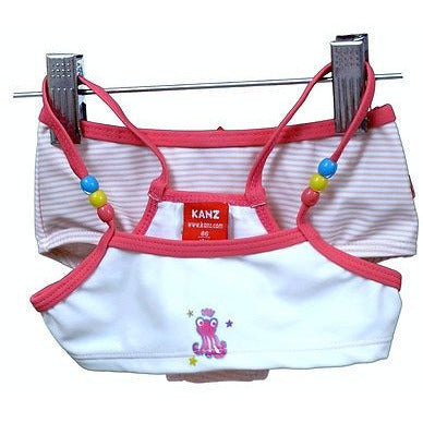 Kanz Girls Boy Short Two Piece Babys Swimwear Pink Size 9M
