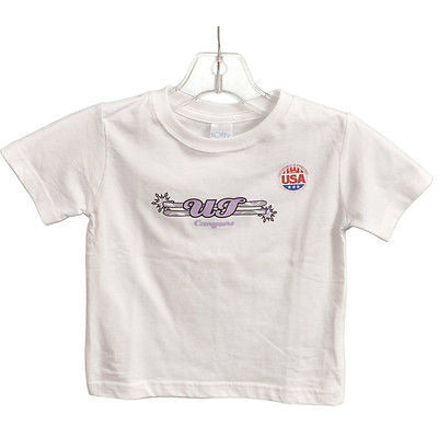Rabbit Skins Softy Canyons S/S Babys T Shirt White Size 3 T