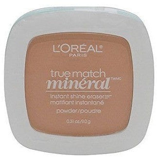 L'Oreal Paris True Match Mineral Pressed Powder, Sand Beige, 0,31 Ounce