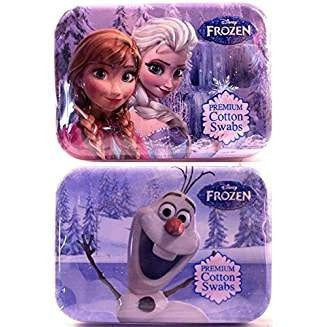 Cotton Buds Disney Frozen Travel Cotton Swabs 30 ea (Pack of 3)