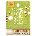 Burt's Bees Lip Care Coconut & Pear Bring Back the Bees Lip Balms 0.15 oz. blister box
