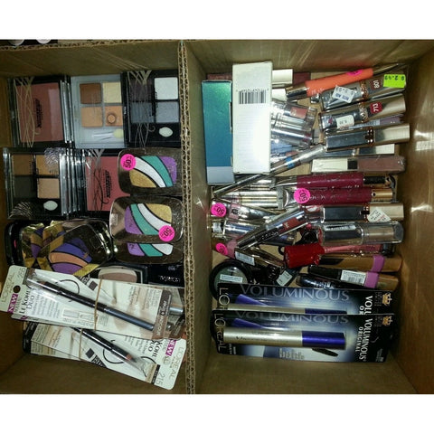 25 Piece Wholesale only Loreal, Maybelline and revlon Cosmetics Lot,assorted