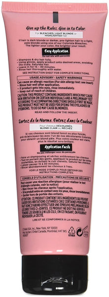 L'Oreal Paris Colorista Semi-Permanent Hair Colour for Blonde Hair, Pink, 4oz