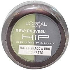 2 Pack- L'Oreal Hip Matte Shadow Duo #307 Perky