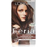 Loreal Feria Haircolor, Medium Brown # 50 - Kit
