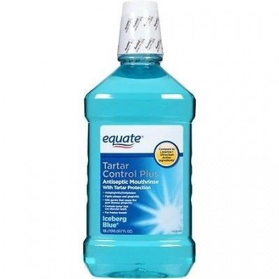 Equate Tartar Protection Antiseptic Mouthrinse, 50.7 fl oz