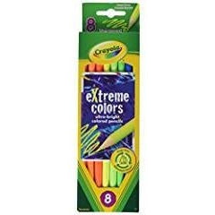 Crayola 8-Count eXtreme Colors Pencils (68-1120)