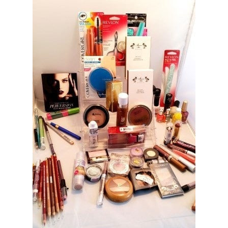 Wholesale Makeup Lot (60 Piece Assortment Covergirl, Maybelline, Amore Mio an...