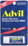 Advil Vial, Tablets, 10 ct