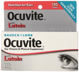Bausch & Lomb Ocuvite Vitamin & Mineral Supplement Tablets with Lutein, 120-Count Bottles
