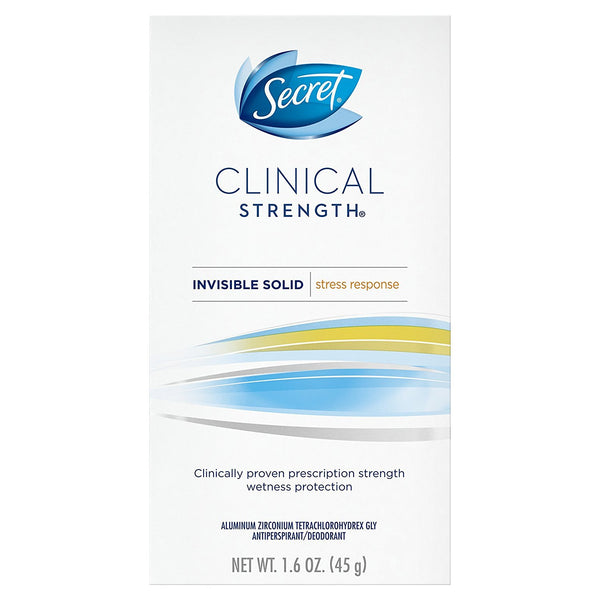 Clinical Strength Invisible Solid Stress Response Antiperspirant/Deodorant 1.6 oz