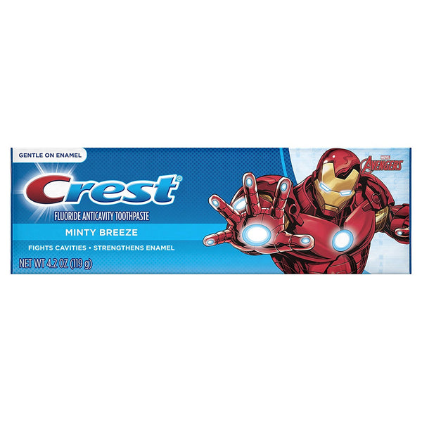 Crest Kid's Toothpaste Featuring Marvel's Avengers, 4.2 Oz, 0.32 Pound