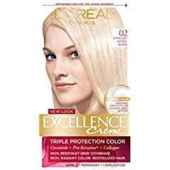 L'Oreal Excellence Hair Color - Extra Light Natural Blonde 02