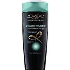 L'Oreal Paris Hair Expert Power Moisture Hydrating Shampoo, 12.6 fl. oz. (Packaging May Vary)