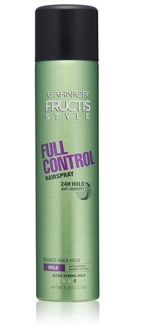 Garnier Fructis Style Full Control Hairspray, All Hair Types, 8.25 oz.