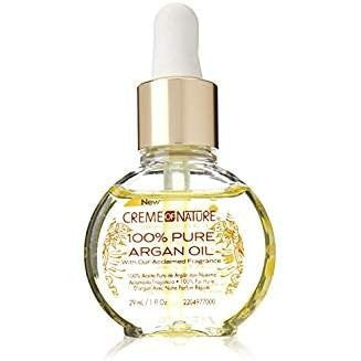 Creme Of Nature Argan Oil 100% Pure Argan Oil 1oz (2 Pack)