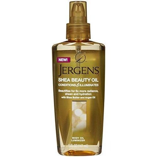 Jergens Shea Beauty Body Oil Luminizer For Unisex, 5 Ounce - Oh!Dreamy™ Online Store