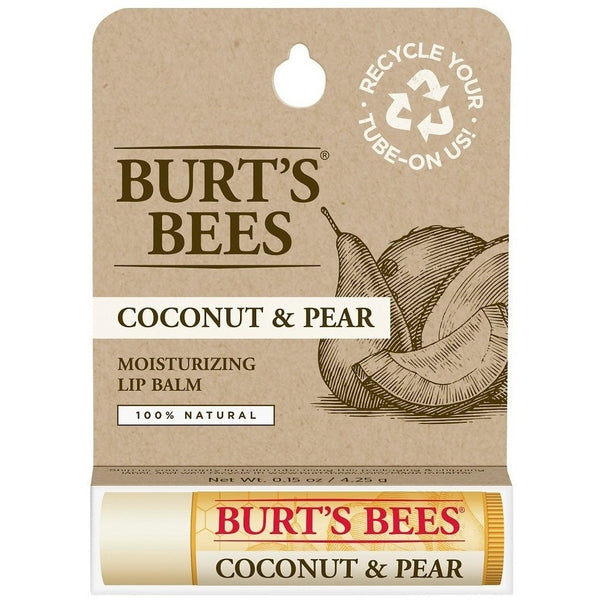 Burt's Bees Lip Balm - Coconut and Pear - 0.15 oz