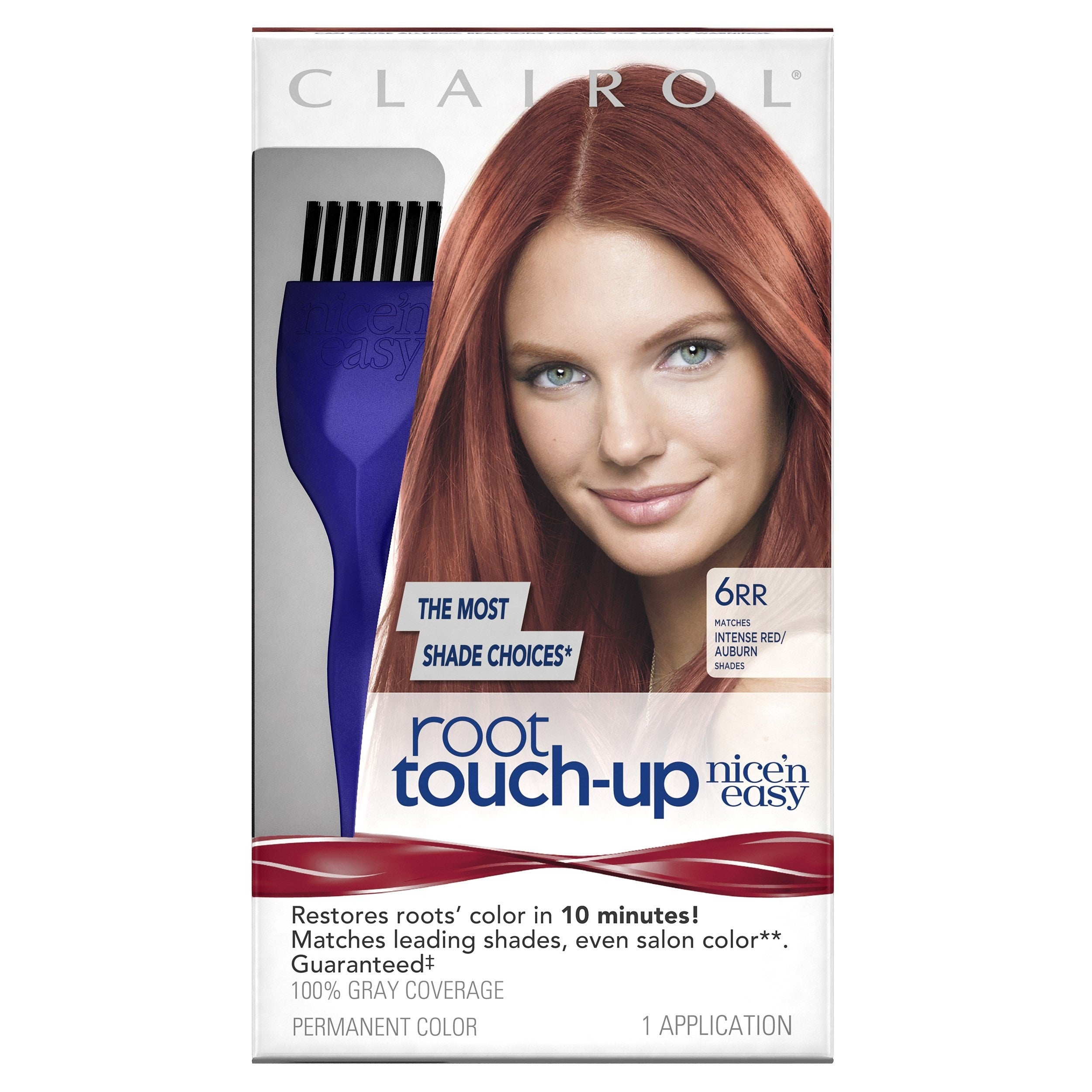 Clairol Nice \'n Easy Root Touch-Up Permanent Hair Color 6RR ...