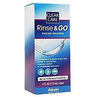 Alcon Cln Care Rins & Go Size 4z Alcon Clean Care Rinse & Go 4z
