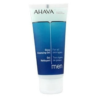 Ahava Men Deep Cleansing Gel All Skin Types - 100ml-3.4oz (Unboxed)