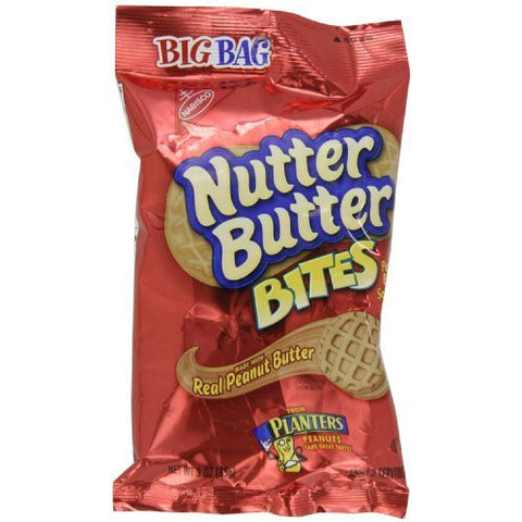 Nabisco Nutter Butter Bites, 3-Ounces (Single Pack)