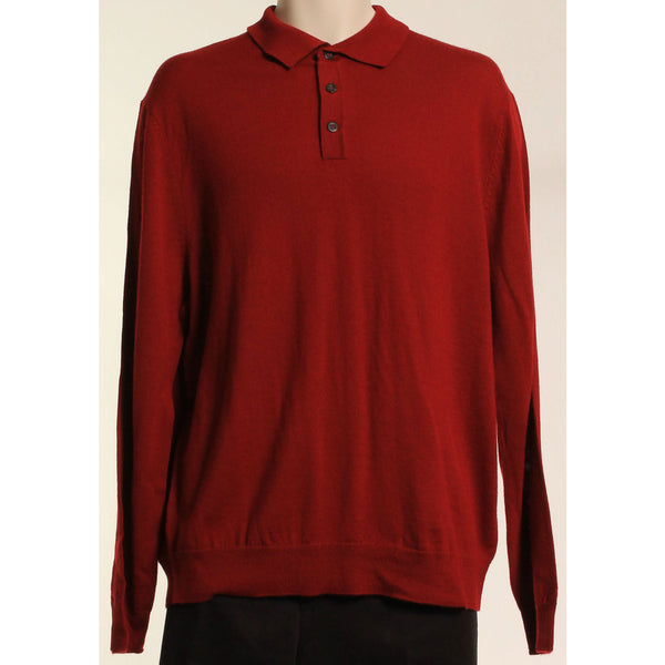 Club Room Outlet Price Mens Fashion  Polo  Merino Wool Blend Sweat Sz M - Oh!Dreamy™ Online Store