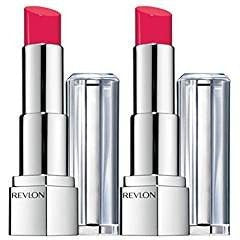 (2 Pack) Revlon Ultra HD Lipstick NEW, (840 Poinsettia)