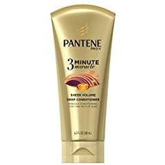 Pantene 3 Minute Miracle Treatment 6 Oz Sheer Volume Pack of 2