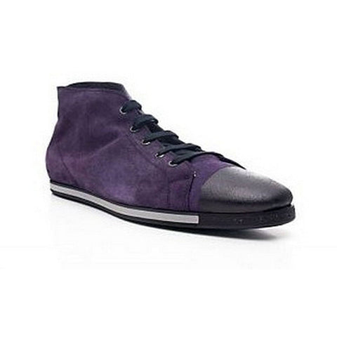 Fessura June Flat Sneakers Womens Shoes Purple