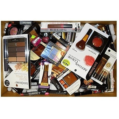 Assorted Black Radiance Cosmetic Lot (50 Pcs)