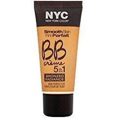 N.Y.C. New York Color BB Creme Foundation Bronze, Medium, 1 Fluid Ounce