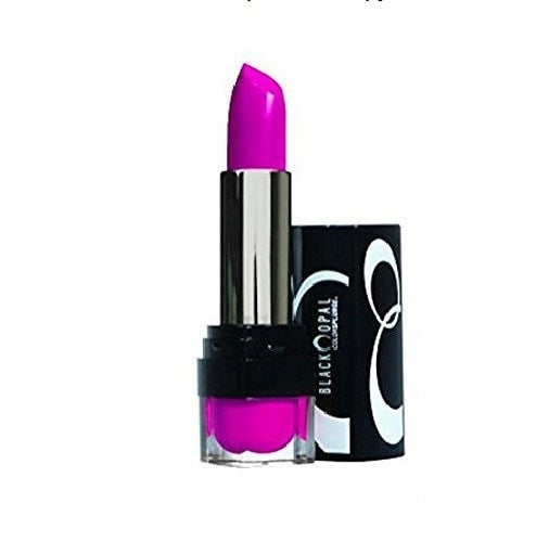 (2 Pack) - VALUE PACK! - Black Opal Color Splurge Luxe Lipstick, Fashion Fuchsia, 0.12 oz