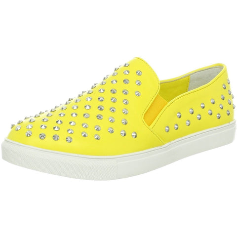 Penny Girl By Penny Sue Sting Loafers Womens Shoes Yellow