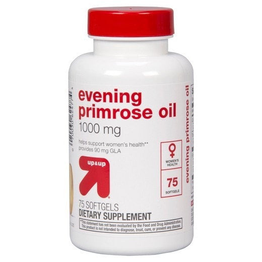Evening Primrose Oil 1000 mg Softgels 75 Count - up & up™