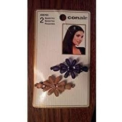 Conair Flower Stone Barrettes 2 ct.