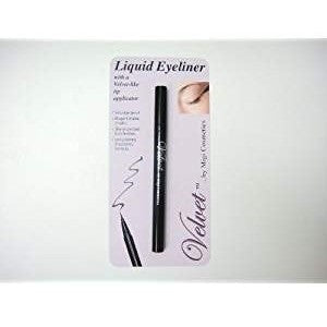 VELVET LIQUID EYE LINER PEN WITH MIXING BALL FOR SMOOTH PRECISE COLOR APPLICA...