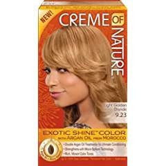 Creme of Nature Exotic Shine Color, Light Golden Blonde, 9.23 Fluid Ounce