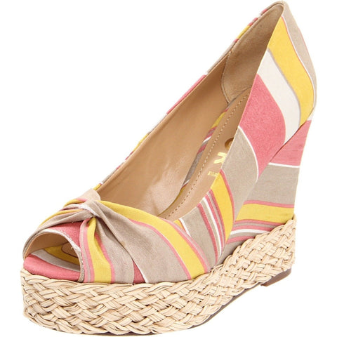 Report Goldie Platform Wedge Womens Shoes Camel Tan