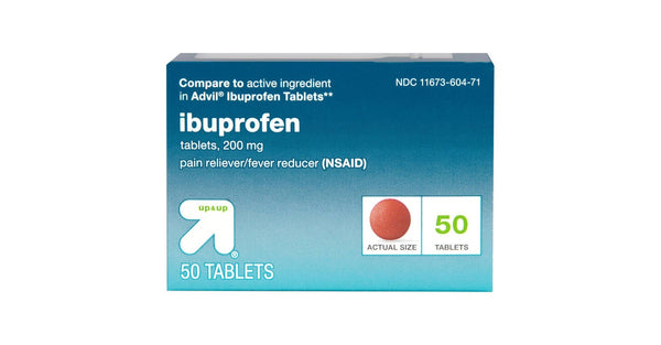 Ibuprofen 200 mg Pain Reliever/Fever Reducer Tablets - up & up™