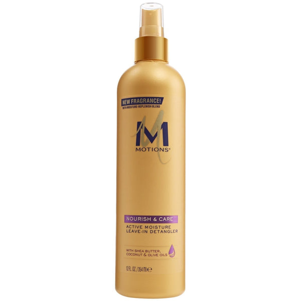 Motions Nourish and Care Active Moisture Leave-in Detangler, 12 Ounce
