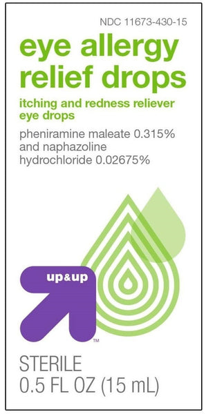 Eye Allergy Relief Drops - 0.5 oz - up & up™