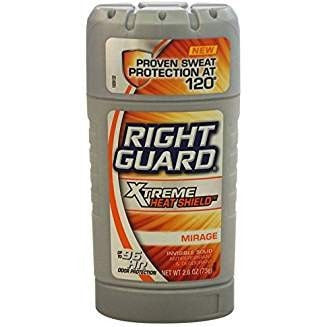 Right Guard Xtreme Heat Shield Invisible Solid Antiperspirant & Deodorant, Mirage 2.6 oz ( Pack of 3)