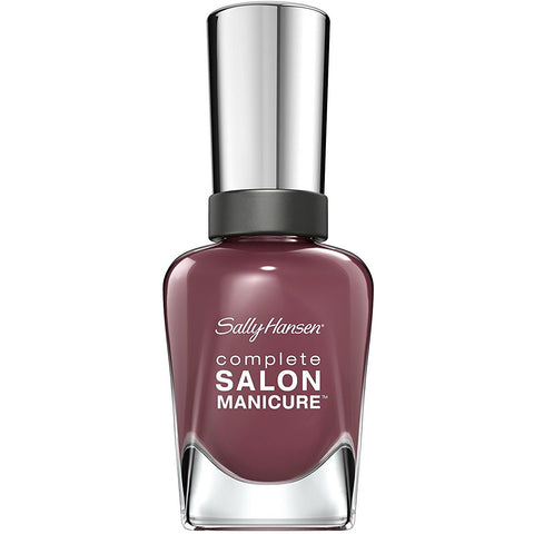 Sally Hansen Complete Salon Manicure Nail Polish, Plum's The Word, 0.5 Fluid Ounce