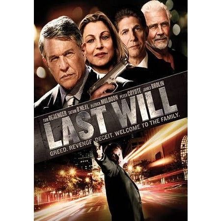 Last Will (DVD, 2012) Movie - Oh!Dreamy™ Online Store
