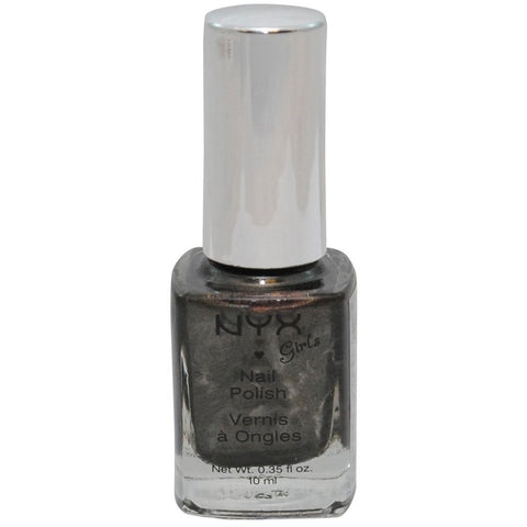 NYX Girls Nail Polish-NXNGP121 Charcoal Pearl