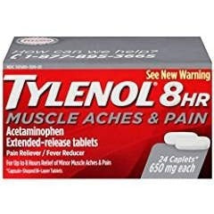 Tylenol 8 HR Muscle Aches & Pains, 24 Count